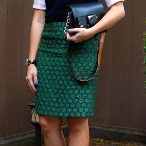 Anthropologie Maeve Goban Textured Dot Skirt A13